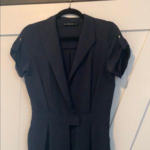 Navy Jumpsuit from Zara